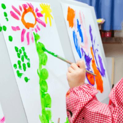 Super Simple Kids Artwork Storage Solution